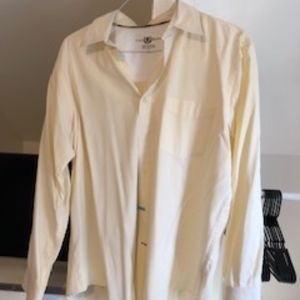Yellow Button Down - Club Room